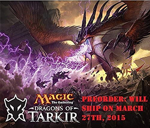 tomamos a los clientes como nuestro dios MTG MTG MTG Magic the Gathering Dragons of Tarkir - 6 Booster Packs (15 cards per pack) - Pre-Order Ships March 27th by Wizards of the Coast  venta caliente en línea