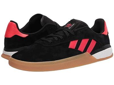 adidas Skateboarding 3ST.004 (Core Black/Solar Red/Footwear White) Men