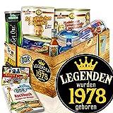 Legenden 1978 - Ostprodukte DDR - Männergeschenk 1978 - DDR Geschenkset