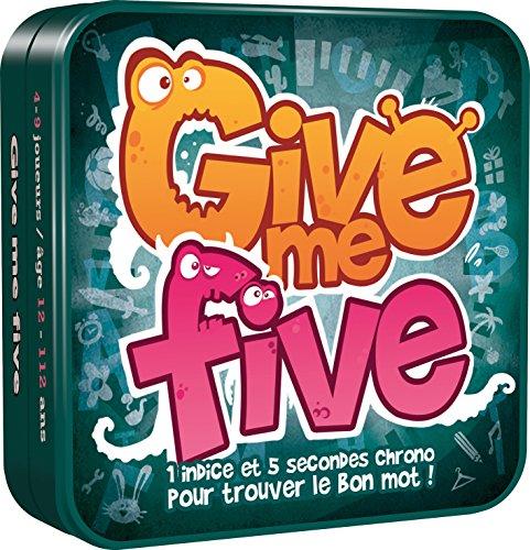 Give Me Five - Asmodee - Jeu de société - Jeu d'ambiance - Jeu de mots - Jeu de communication