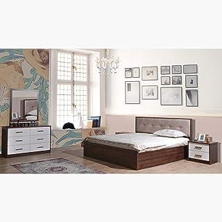 Home Box Patara King Hydraulic Storage Bed - 180x200 cms