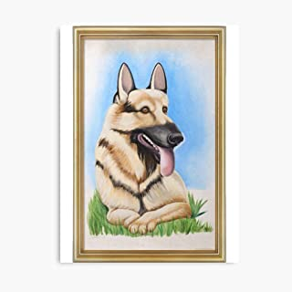 Akalin Its Always Sunny - Hitlers Dog 3D Canvas Printing Radon Frame Canvas Home Decorative Wall Art Painting Mural Printing 8