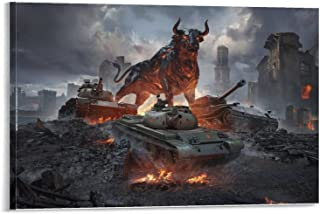 Tank Bulls-VK 72.01 M60 Patton, HD Canvas Poster, Mural, Decorative Painting, ArtworkDecorative murals Make Your Life More...