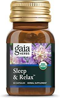 Sponsored Ad - Gaia Herbs, Sleep & Relax, Sleep Support, Non Habit Forming Herbal Sleep Aid, California Poppy, Lavender, L...