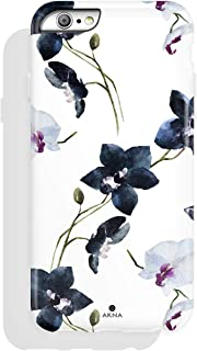 iPhone 6/6s case Floral, Akna Collection High Impact Flexible Silicon Case for Both..