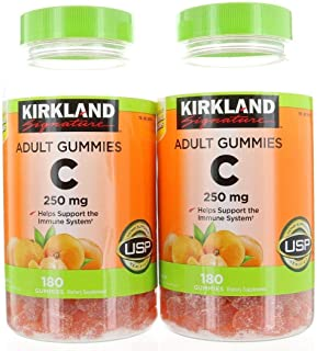 Kirkland Signature Vitamin C 250 mg., 360 Adult Gummies