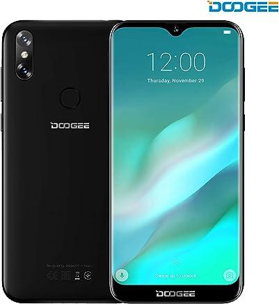 Móviles y Smartphones Libres, DOOGEE Y8 4G Teléfono Móvil Libre y sin Bloqueo de SIM 6.1 Pantalla 19:9 HD - Procesador DualCore MT6739-3GB RAM + 16GB ROM - 8.0MP+5.0MP - 3400mAh - Negro
