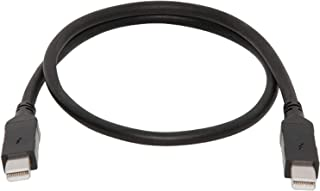 Sonnet Thunderbolt Cable–Thunderbolt Cable (Male to Male 1m Black TCB-tb-1m 1m 10Gbit/S; 10Gbit/s, Black)