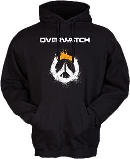 Overwatch Spray Logo Art Premium Hoodie