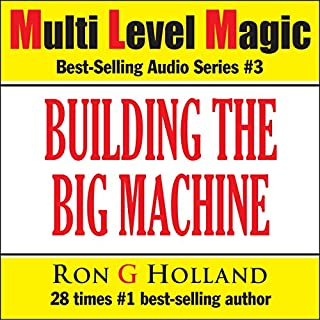 Building the Big Machine audiobook cover art