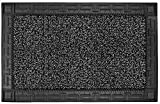 GrassWorx Clean Machine Omega Doormat, 24' x 36', Flint (10374062)