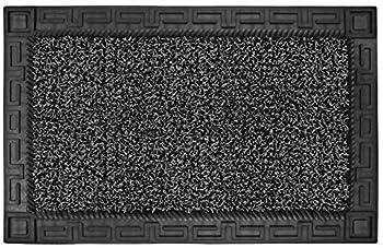 Clean Machine 10376629 Astroturf Dirt Trapper Doormat 22.5 x35.5  Flint Gray
