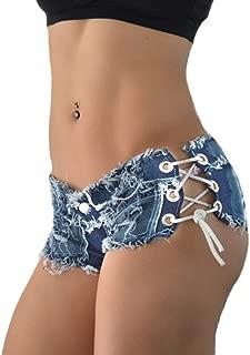 Frauen Mädchen Quaste Verband Party Nacht Club Ausgefranste Seil String Jeans Shorts Hotpants