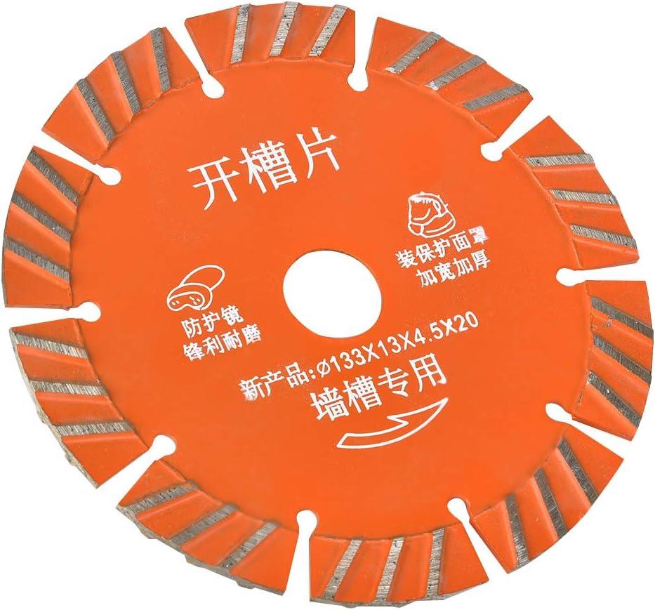 Hoja de sierra circular de diamante 5 piezas Hoja de sierra redonda de 133 mm Hoja de sierra para granito