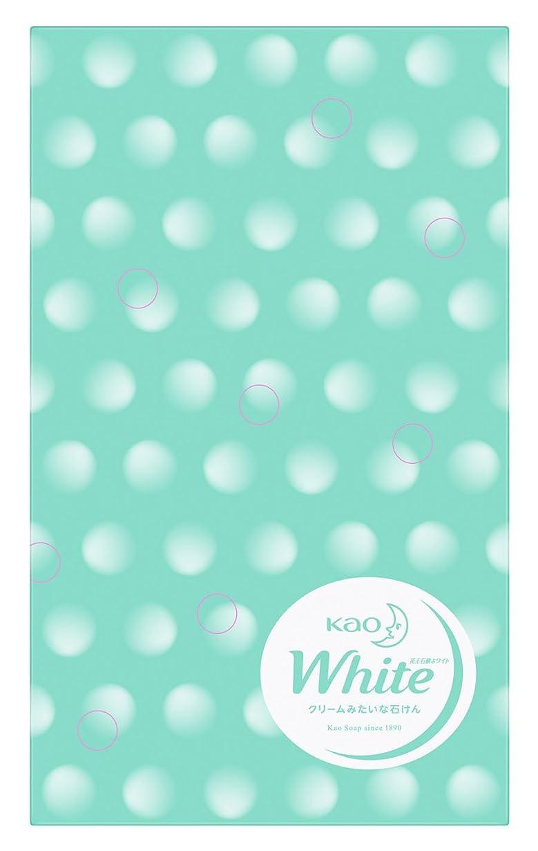 挨拶するマークされた略語花王ホワイト 普通サイズ 10コ包装デザイン箱