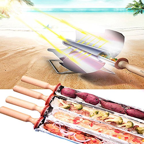 Bazaar Camping Solar Ofen Tragbarer Barbecue Grill Barbecue Ofen Picknicknahrungsmittelheizung Kebab Roast Charbroiler