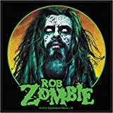 Rob Zombie Hellbilly Patch Spookshow Deluxe Art Metal Woven Sew On Applique