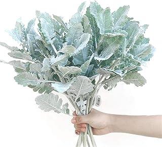 JIAJBG Flores Artificiales Crisantemo Croissant Grande Arreglo de Flores Simulación Ramo de Interiores Decoración Interior...