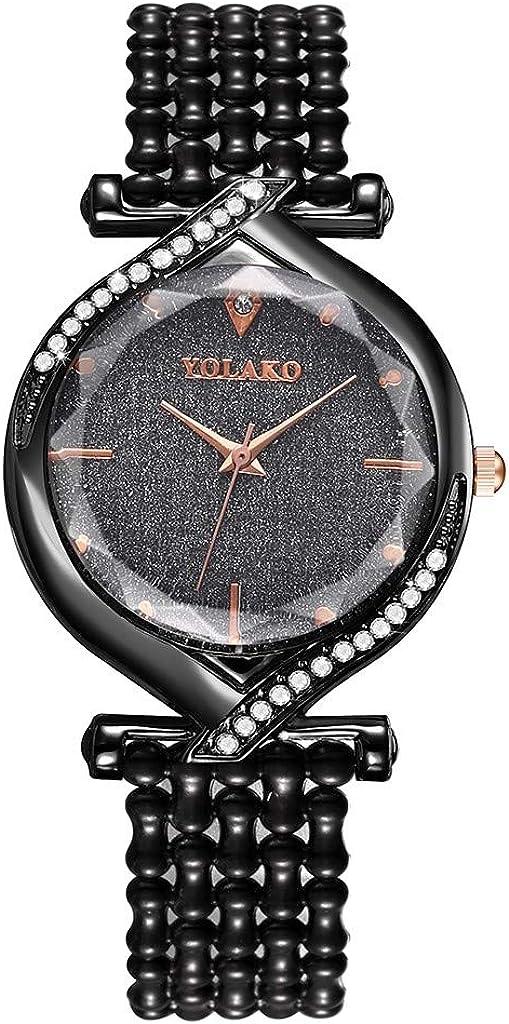 Limited price Muranba WatchesYOLAKO Sleek Super sale period limited Minimalist Calendar Plastci Leat