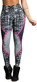 iMakCC Women Fashion Print Workout Leggings Fitness Sports Running Yoga New Pant 2018