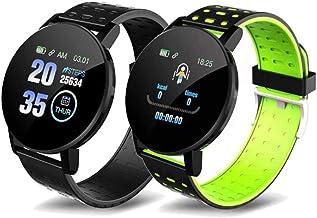 UIEMMY slim horloge Mannen Sport Smart Horloge Bloeddruk Fitness Tracker Vrouwen Smartwatch WhatsApp Bericht Herinnering v...