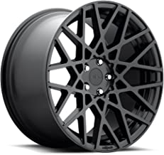 Rotiform BLQ Matte Black Wheel with Painted Finish (20 x 10. inches /5 x 4 inches, 40 mm Offset)