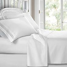 Clara Clark Premier 1800 Collection Hoja de cama Set, Juego