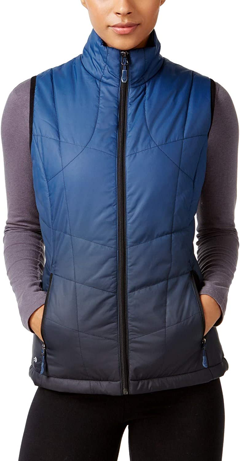 Ideology Womens Quilted Fall Vest