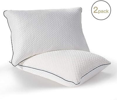 Amazon.com: DOMIKING Bedding Luxury Silk Satin Pillowcase ...