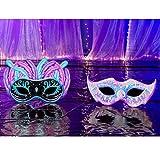 Small Masquerade Ball Mardi Gras Party Props Standup Photo Booth Background Backdrop Decoration Decor Scene Setter Cardboard Cutout