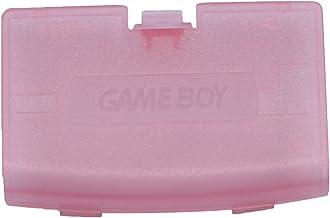 Timorn Caso de la Cubierta de la batería reparación de la Parte Puerta de atrás para Nintendo Gameboy Advance GBA (Rosa Transparente)