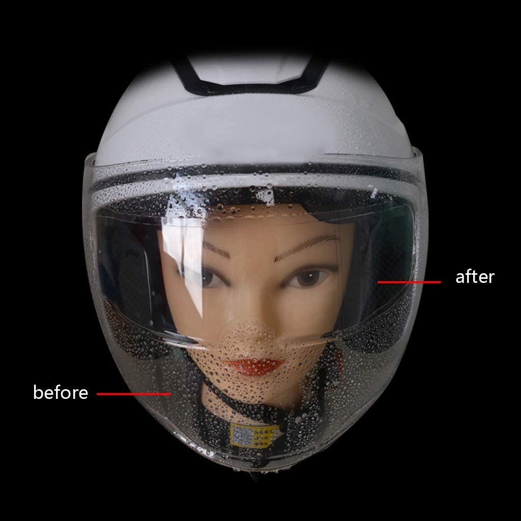 Motorcycle Helmet Visor Sticker EWAT Helmet Clear Anti-Rain Anti-Fog Patch Film Universal Protective Film Transparent Vsor Disc Sticker