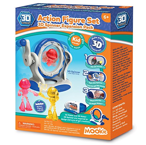 3D Maker 3D Spinner Action Figure Expansion Set