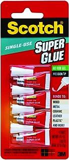 Scotch AD119 Single Use Super Glue Gel