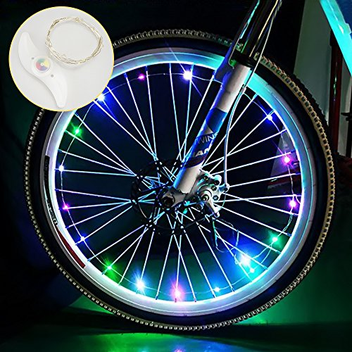 LED Bike Wheel Lights $8.50 (50% OFF Coupon)
