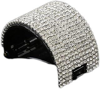 Lurrose ヘアクリップ 髪飾り ヘアクリップ 髪留め スタイリングツール 女性のため(ブラック)