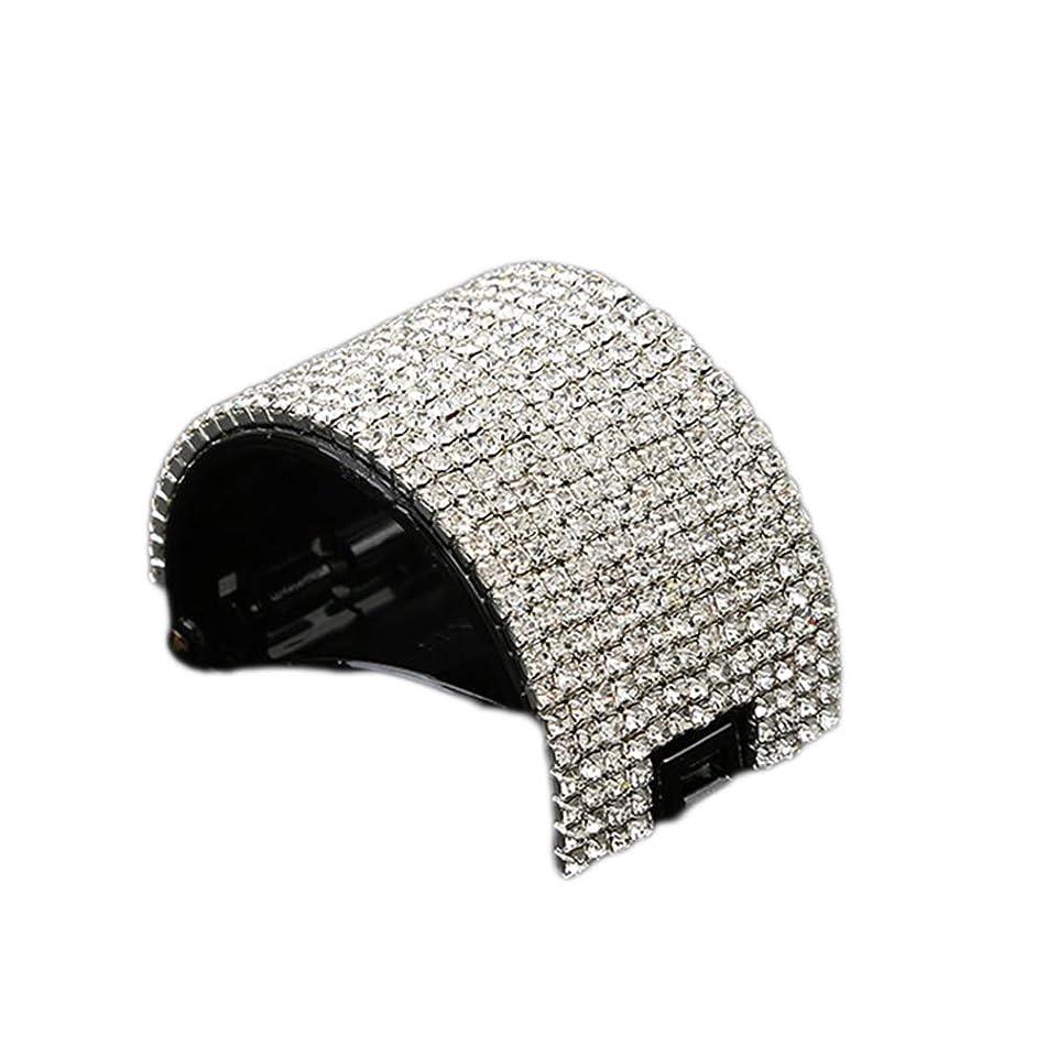 強制的コンテンツ著名なLurrose ヘアクリップ 髪飾り ヘアクリップ 髪留め スタイリングツール 女性のため(ブラック)