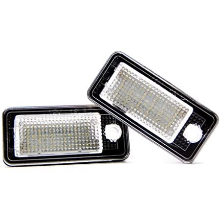 2 X Led Kennzeichenbeleuchtung Kennzeichen Xenon Licht Leuchte Lampe Auto