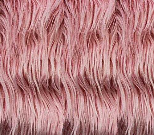 Faux/Fake Fur Mongolian Fabric