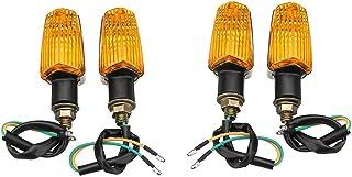 Frieed Indicateur de Lampe de Signal de clignoteur de Moto 4 pcs LED Lumières universelles Durable