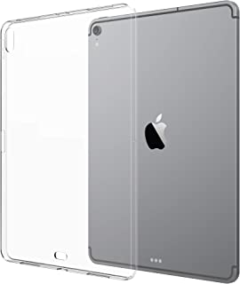 Luvvitt iPad Pro 12.9 Case 2018 Clarity Case TPU Flexible Slim and Light Back Cover for Apple iPad Pro 12.9 in 2018 - Clear (Supports Charging of Apple Pencil)