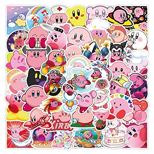 DSSJ 50 Pegatinas de Tarjeta de Estrella Bonitas de Dibujos Animados, Maleta de Equipaje, Maleta, portátil, teléfono móvil, Carcasa, Pegatinas para iPad