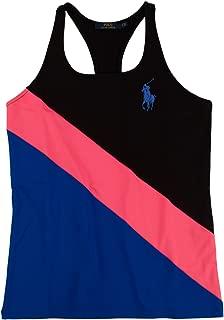 Polo Ralph Lauren Women's US Open Color-Blocked Racerback Logo Tank