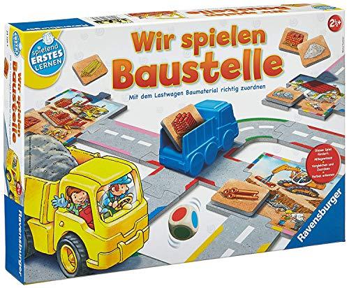 Ravensburger Spielen und Lernen 24726 - Wir spielen Baustelle