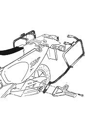 Portavaligie Lateral para Maletas monokey kl447 Kawasaki versys 2006 650 2009 Kappa