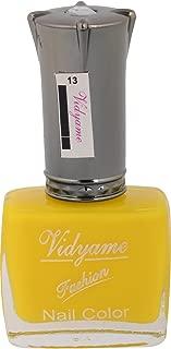 Vidyame Nail Paint, Yellow, 9.9 ml