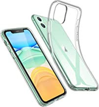 ESR Case for iPhone 11 [2019 Model, 6.1-Inch], Case Cover with Slim Clear Soft TPU, 1.1 mm Thick Back Case, Shock-Absorbin...