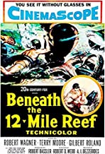 Beneath The 12-Mile Reef - 1953 - Movie Poster