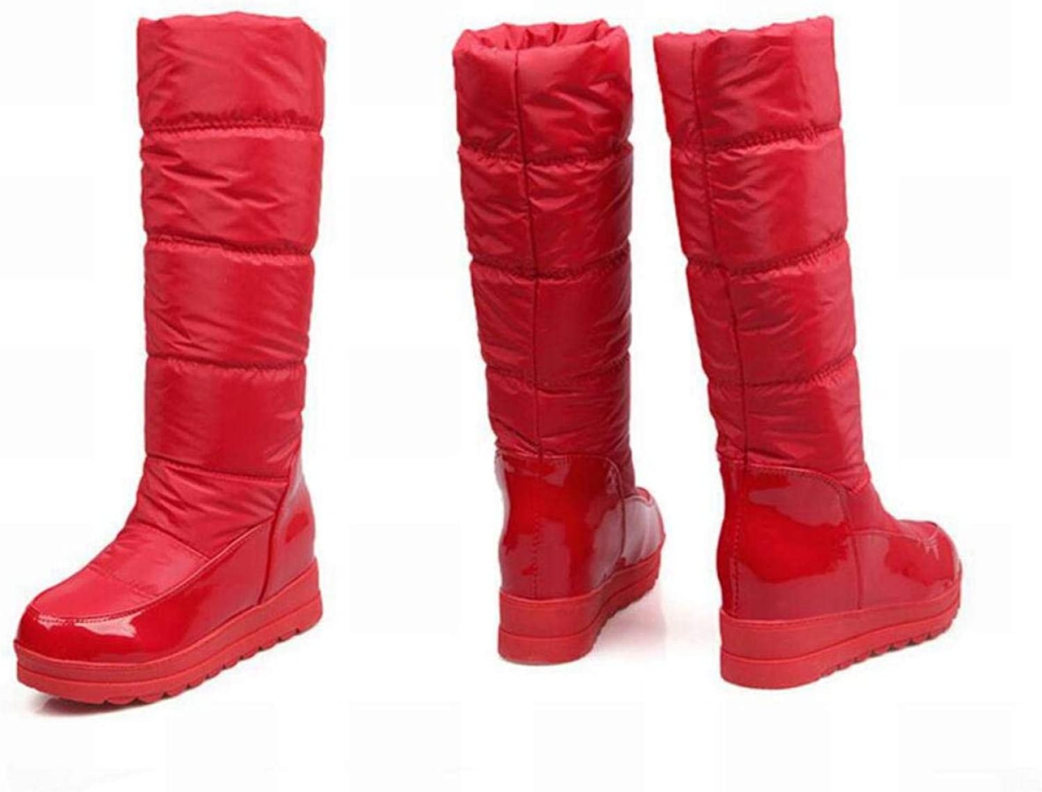 Women's Boots - Winter Warm Anti-Skiing Boots Heightening Boots Knight Boots 34-40
