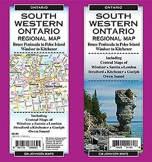 Southwestern Ontario, Ontario Regional Map